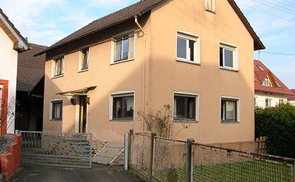 Einfamilienhaus, Schutterzell – verkauft in 2Tagen