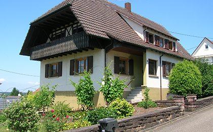 Einfamilienhaus, Hofweier – verkauft in 3Monaten