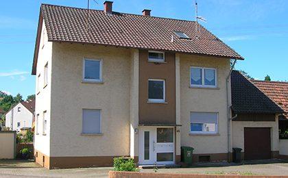 Zweifamilienhaus, Rammersweier – verkauft in 5Monaten